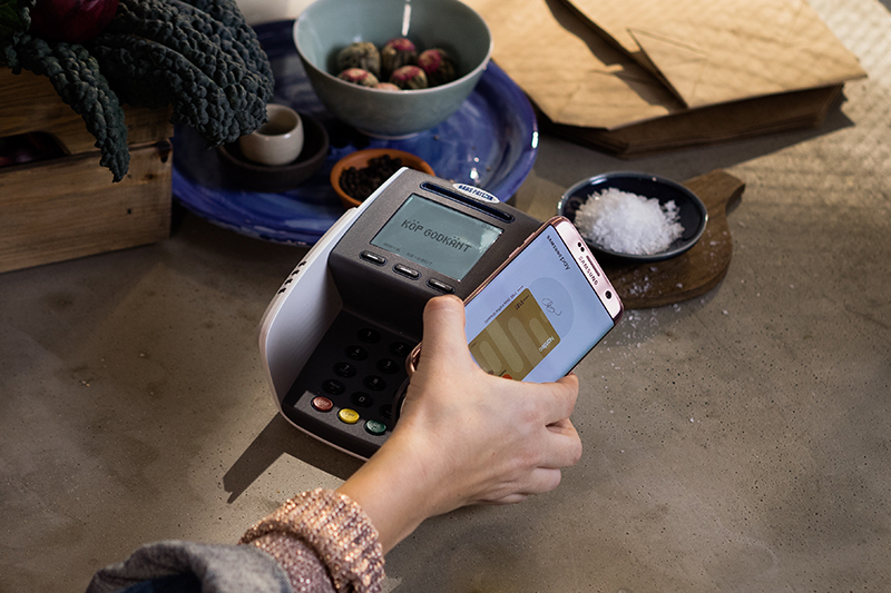 Samsung Pay med Terminal